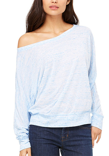 Long Sleeve Off Shoulder Tee