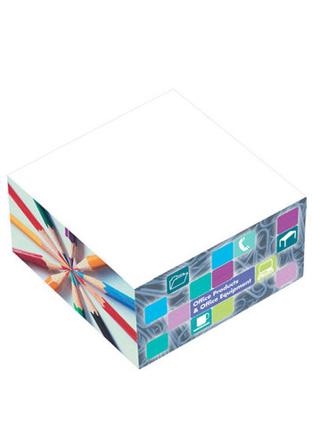 Full Color BIC Adhesive Cubes   BGSNC3B