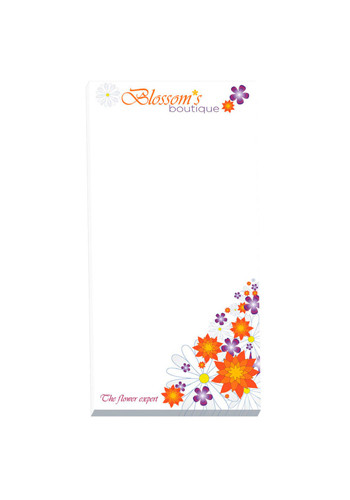 Customized ECO BIC Non-Adhesive Scratch Pads 25 Sheets
