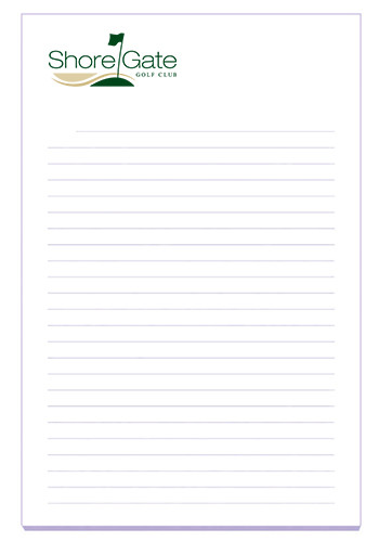 ECO BIC Ruled Adhesive Notepads 100 Sheets | BGP4A6A100ECO