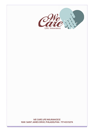 Personalized BIC Ruled Adhesive Notepads 25 Sheets