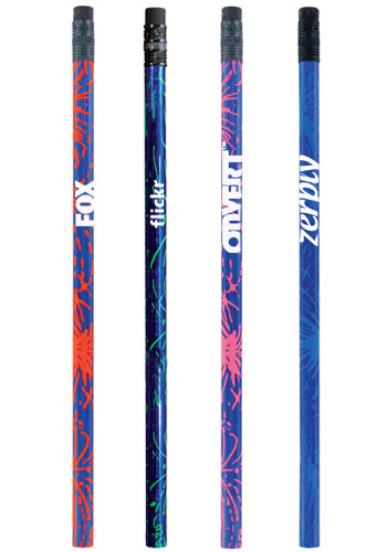 Blue Foil Sparkler Pencils | AK20111