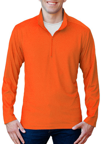 Blue Generation Men's Solid Zip Pullovers | BGEN7230