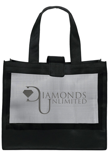 Promotional Grande Mesh Panel Totes