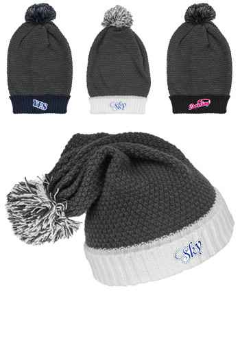 Knitted Cuffed Beanies