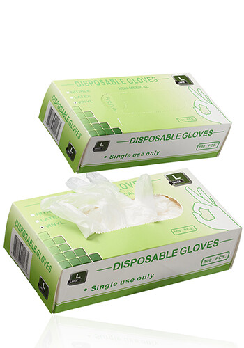 Box of Disposable Vinyl Gloves | GLL005