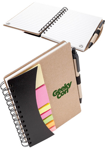 Personalized Broome Mini Journals with Pens, Flags and Sticky Notes