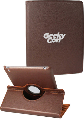 Brown iPad 360 Faux Cases | NOI60I360BR