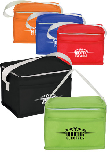 Budget Non-Woven 6 Can Lunch Coolers | SM5820