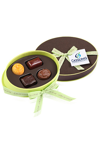 Bud F-Piece Specialty Belgian Chocolates in Gift Boxes | X10366