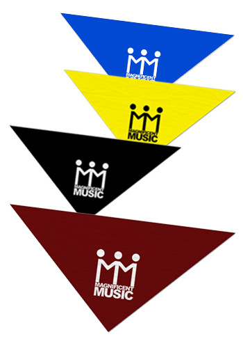 Promotional Large Triangle Bandanas