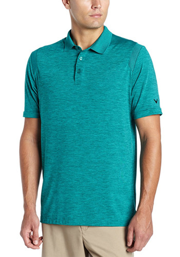 #CGM401 Cheap Heathered Performance Polos