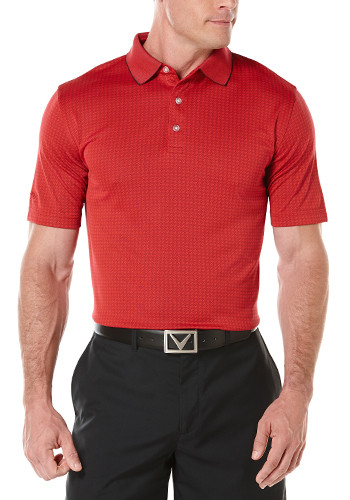 #CGM507 Callaway Promotional Jacquard Polos