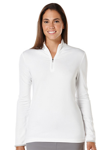 #CGW509 Callaway Wholesale Ladies 1/4 Zip Mock Pullovers