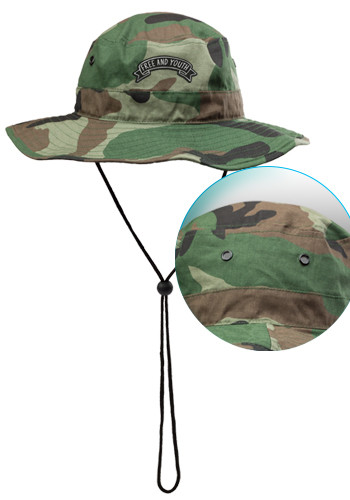 Camo Bucket Hats with Draw Cord | CAP87