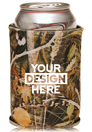 Camo Collapsible Can Coolers