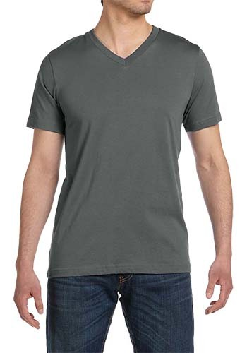 Bella Canvas Unisex Jersey Short-Sleeve V-Neck Tees | 3005