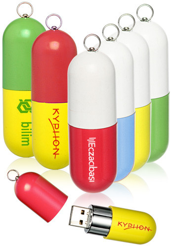 16GB Capsule USB Flash Drives | USB04816GB
