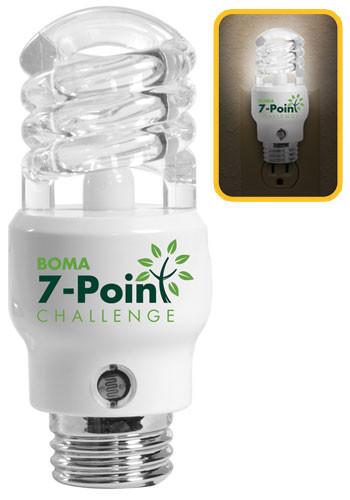 CFL Light Bulb Shaped Nightlights | IL8479
