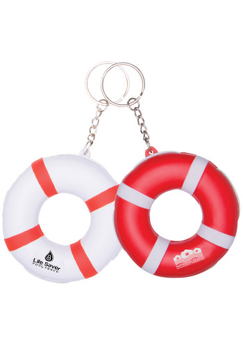 Customized Lifesaver Keytags