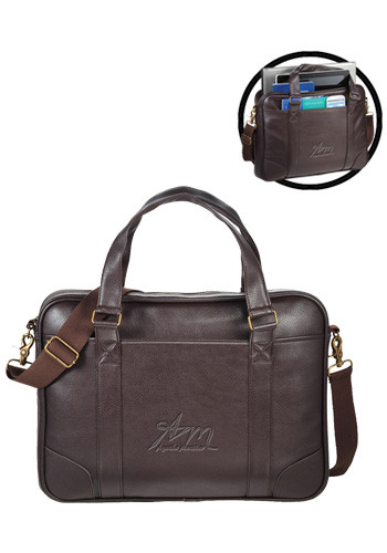 Promotional Oxford Slim Compu-Briefcases