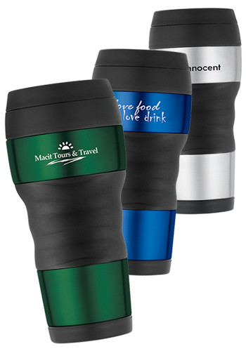 16 oz. ThermoCafe by Thermos Travel Tumblers with Grips | GL80130