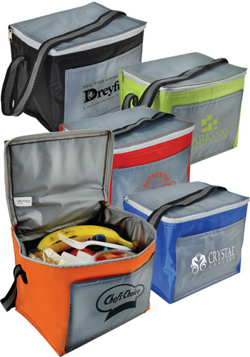 6 Pack Chromatic Cooler Bags | CRCHROM6PK