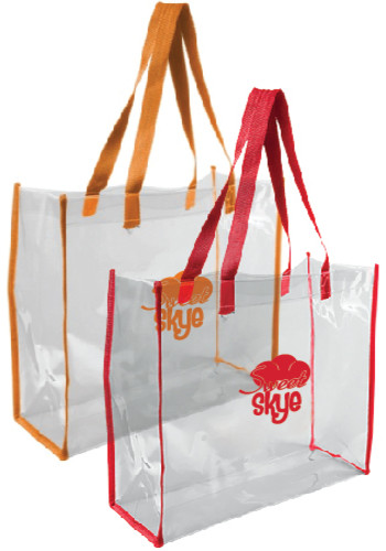 Clear PVC Tote Bags | CPSTB105