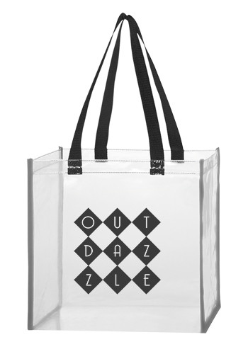 Personalized Clear Reflective Tote Bags