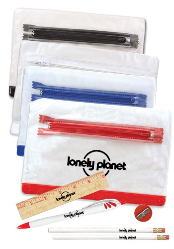 Clear Vinyl School Kit Cases | AK05011