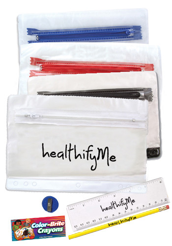 Personalized Clear Pencil Cases
