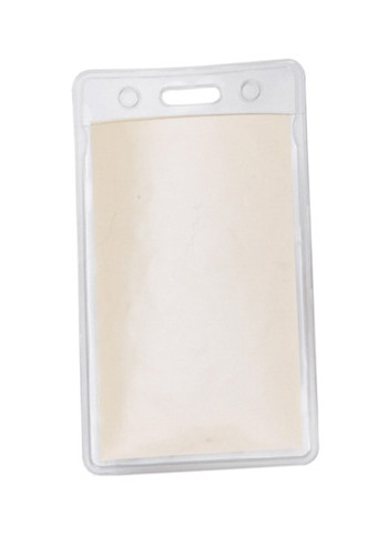 2W x 3H in. Clear Vertical Vinyl Pouches | SUVP3