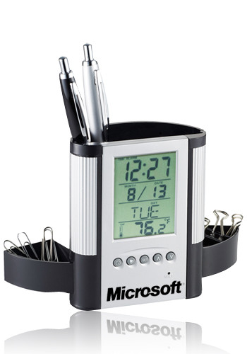 Bulk Desk Organizers with Clock