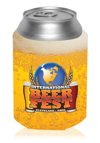 Beer Can Cooler ~ Personalized collapsible beer can cooler kz