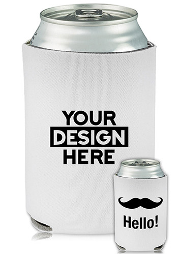 Collapsible Can Cooler Hello Stash Print | KZ451