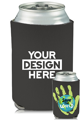 Collapsible Can Coolers Earth Day Print| KZ470