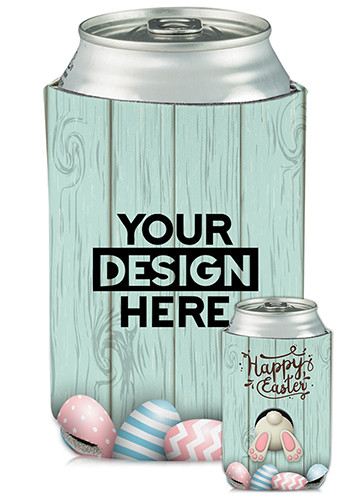 Collapsible Can Coolers Easter Print| KZ471