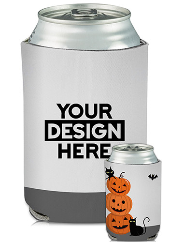 Collapsible Can Coolers Halloween Print| KZ473