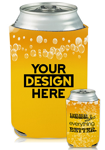 Collapsible Can Coolers Oktoberfest Print| KZ479
