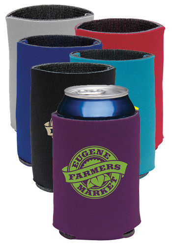 Customized Collapsible Eco KOOZIE Can Kooler