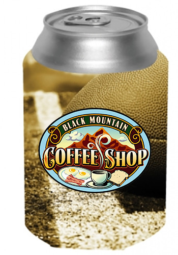 Football Printed Can Coolers