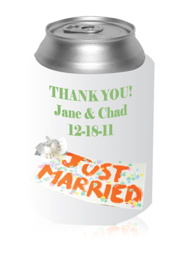 Just Married Can Coolers
