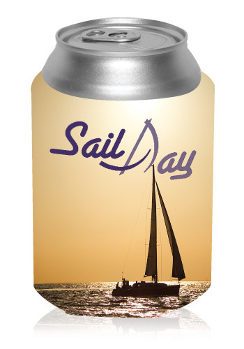 Collapsible Sailboat Can Coolers #KZ273