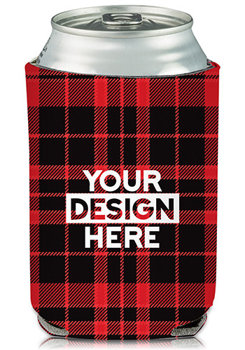 Collapsible Scottish Can Cooler