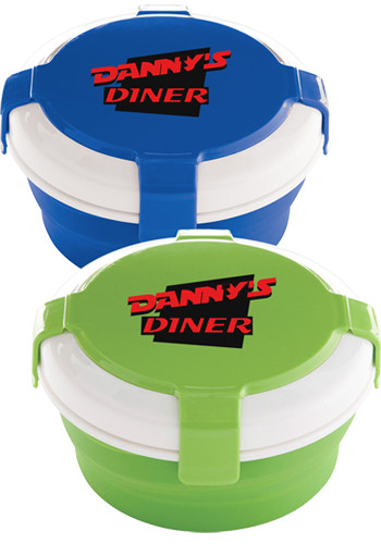 Collapsible Silicone Lunch Set | SM2171
