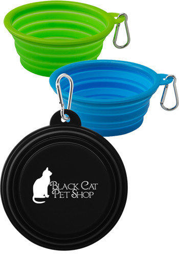 Collapsible Silicone Pet Bowls | IL3744