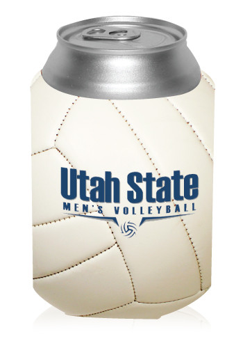 Collapsible Volleyball Can Cooler