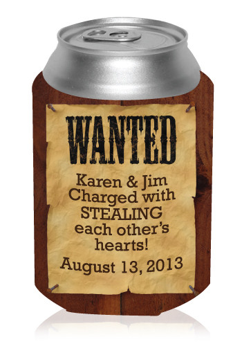 Wanted Can Cooler
