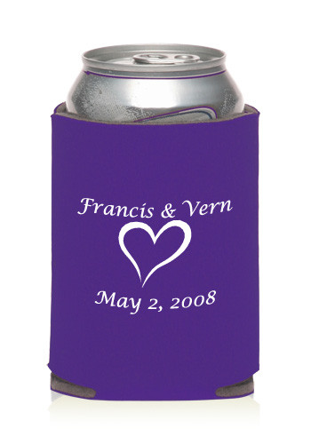 Promotional Collapsible Wedding Can Cooler KZW10 Discount Mugs