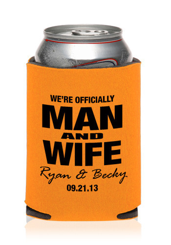 Pics Photos Custom Wedding Koozies Wholesale Wedding Favors Can Coolers Kzw47